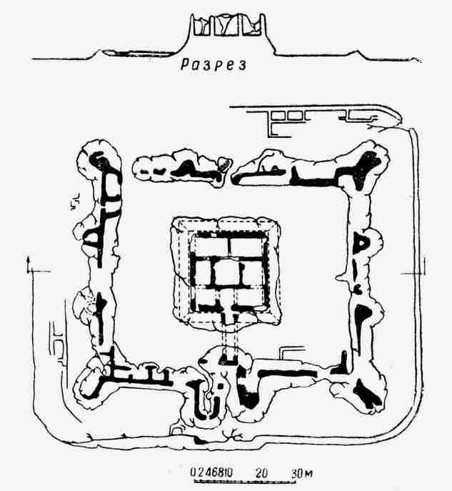Plan of Yakke Parsan