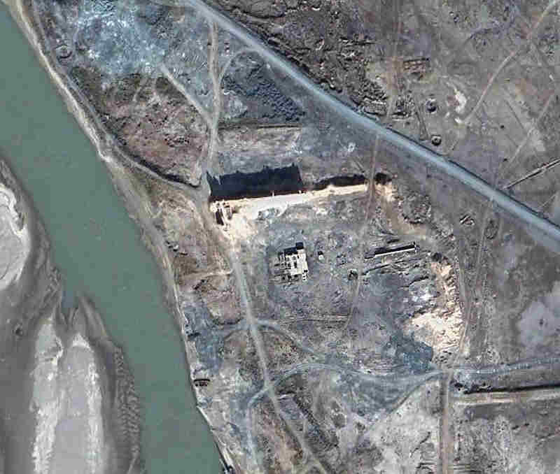Satellite view of Gyaur Qala