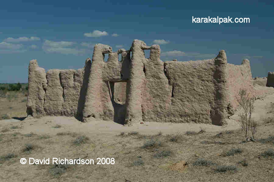 Karakalpak burial enclosure