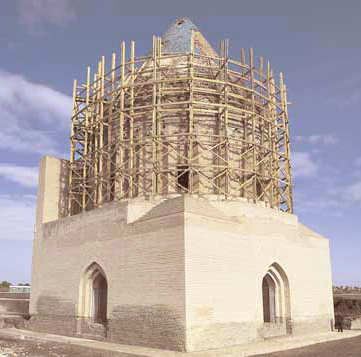 Restoration of the roof in 2006