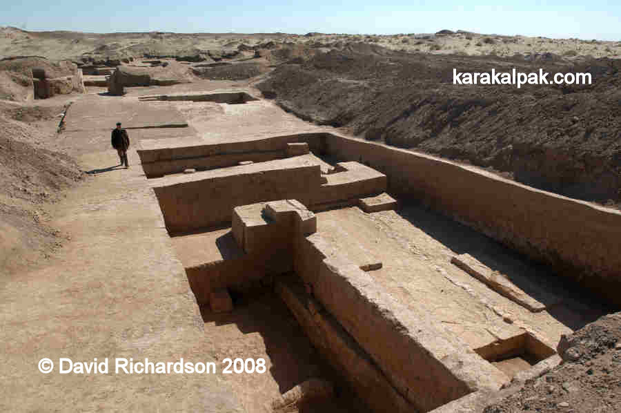 Temple-palace excavations