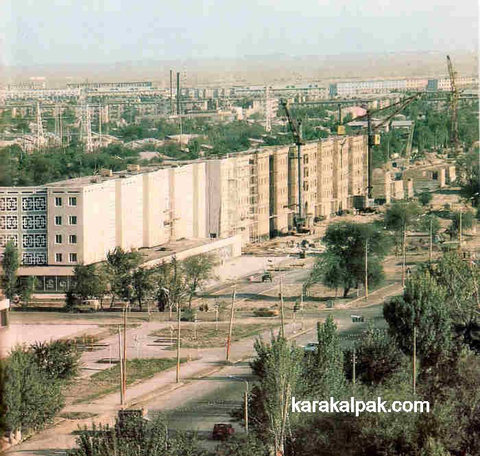 Apartment blocks in No'kis