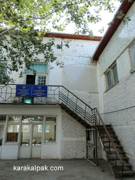 Rear Entrance to Pushkin Gymnasium Number 1