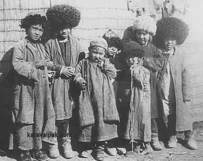 Karakalpak children in the 1920's