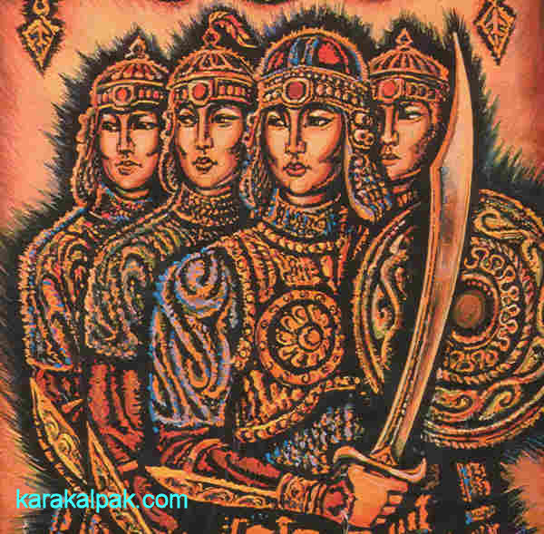 Gu'layim and her virgin warriors