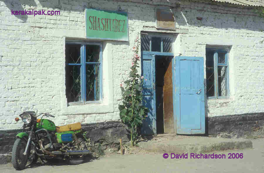 Small shop in Kegeyli