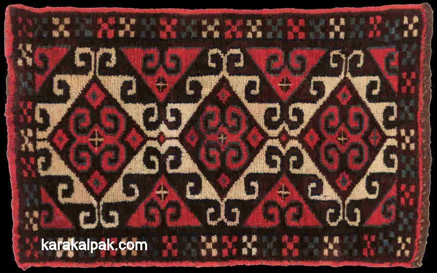 Small Karakalpak weaving