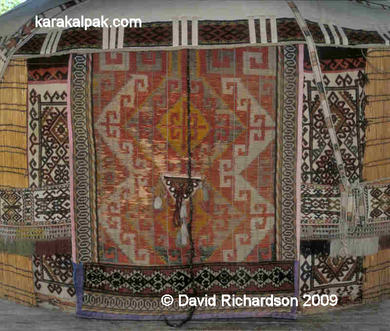 Karakalpak shiy door screen